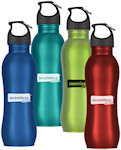 25oz Stainless Steel Grip Bottles